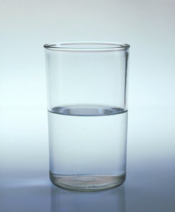 Is this glass half-full or half-empty?