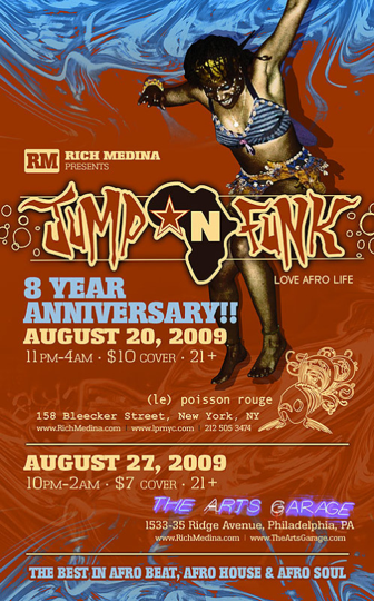 8th Anniversary flyer