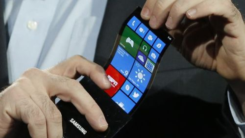CES Samsung Flexible screen 660