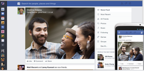 The new and improved Facebook?