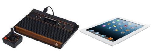 Atari to iPad