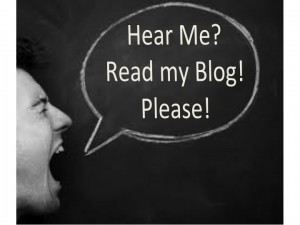 Please read my blog. Please?