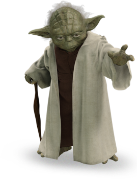Not this Yoda. The real Yoda.