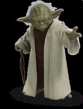 Not this Yoda. The real Yoda.