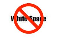 No White Space