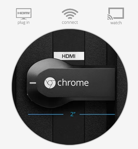 Chromecast in your TV