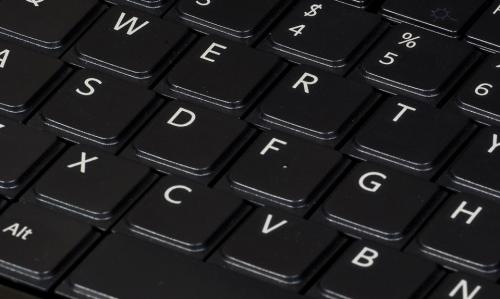 Black keyboard