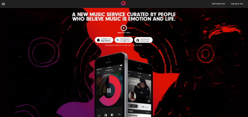 Beats Music Site