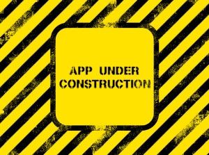 app under construction