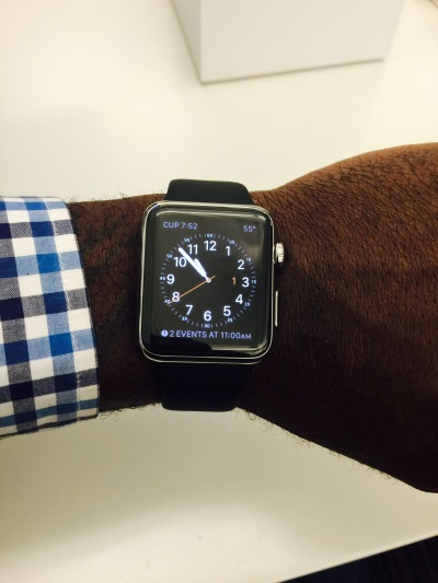 Stephen's Apple Watch