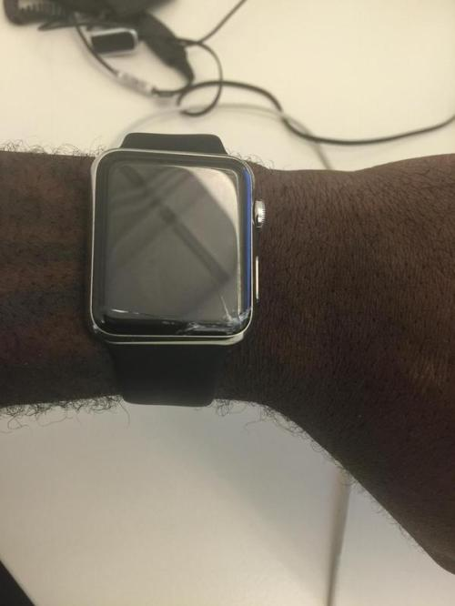 cracked apple watch